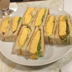 はまの屋パーラー - 玉子焼きサンドイッチ(^∇^)♪