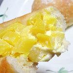 パンドール - 料理写真:たくあんパン200円