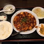成都 - 麻婆豆腐定食500円
