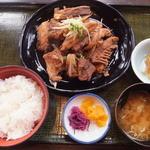 網納屋 - あら煮定食(2016年3月)