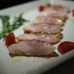 心斎橋かわぐち - ■地鶏フィレの炙り焼き