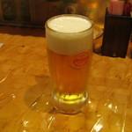 ひとひねり 離 - 「生ビール(オリオン)」です。