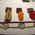 48978150 - 3種のフレーバーのチョコレート