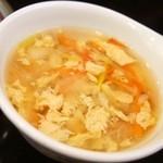 ダイヤ - オムライス(スープ)