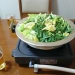 もつ料理月川 - 料理写真:もつ鍋(2人前)