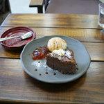 フルール - ケーキセットのケーキ