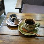 フルール - ケーキセットのコーヒー