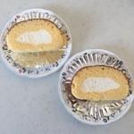 安寿真 - 料理写真:ロールケーキ1個、200円です。