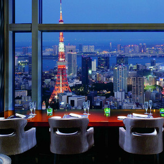 地上200mから望む東京の絶景を一望