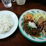 街のハンバーグ屋さん - 和風ハンバーグ&塩こうじ唐揚定食600円