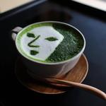 よーじやカフェ - よーじや特製抹茶カプチーノ☆