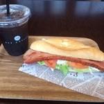 ASP COFFEE - 本当に分厚い厚切りベーコン!400円