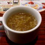 バーミヤン - スープ