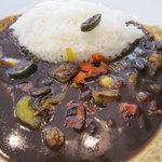 カレーの龍 - 地中海野菜カレーのレギュラー(\740)