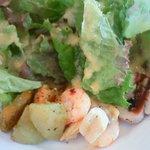 プントパッソ - 前菜三品とグリーンサラダ