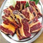 焼肉 ユキ - 骨付きカルビ