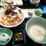 Kuu - 海老天とじ丼定食