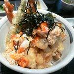 Kuu - 海老天とじ丼