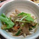 Kuu - 小鉢(きんぴらごぼう)