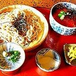 松ノ木 - ざるそば+ミニいくら丼 1200円