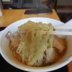 喜多方ラーメン 坂内 - 太麺