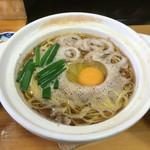 鍋焼きラーメン千秋 - 鍋焼きラーメン並550円