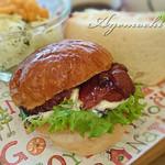 ベッカライズ オブ スイートガーデン - パンランチセットの照り焼きチキンバーガー