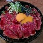 48996604 - 1.5倍絶品濃厚ダレローストビーフ丼