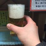 麺壱 吉兆 - ビール