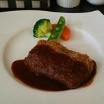 ワンシーン - コルドンブルー(牛肉のハム、チーズはさみ揚げ)