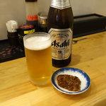 お食事処 さくら - ビール中瓶550円