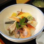 お食事処 さくら - 地魚丼(海鮮丼) 1100円