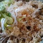 奥会津 - 蕎麦(たぬき)