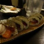 48999963 - 1603_アジト_コース_07.海鮮巻き寿司