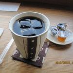珈琲豆屋 - アイスコーヒー550円