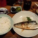 いわさき - さば塩焼き定食(750円)