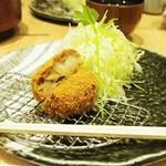 かつくら - コロッケ(肉じゃが)