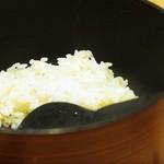 かつくら - 麦飯