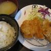 桜亭 - 料理写真:ひれ&チキンかつ定食