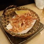 Sushizammai - 川海老唐揚げ(580円)