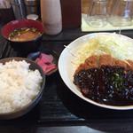 Sakuton - 八丁味噌かつ定食