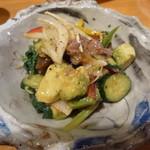 ナイーズ - 漬けとアボガドと野菜のサラダ