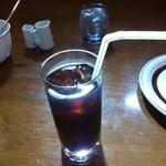 オレンジ・ピープル 海賊の宝物 - 結構、ちゃんとしたアイスコーヒーも付く