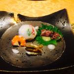 四季の杜 紫尾庵 - 前菜
