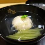 日本料理 太月 - ☆煮物椀は…帆立真丈(#^.^#)☆