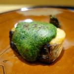 日本料理 太月 - ☆桜鱒炭火焼き…木の芽味噌(^o^)丿☆