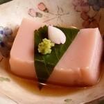 石釜いおり - 料理写真:「胡麻豆腐」です。
