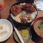 かねこ - 名物かつ丼(2016年3月)