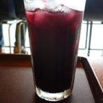 ジョルノコーヒー - 赤ぶどうジュース