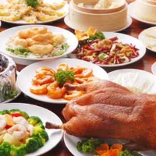 本場中国の達人が腕を振るう、中華五千年の味
